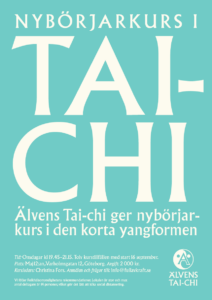 Affisch med information om höstens kurser.